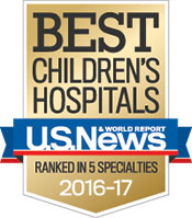 Children's Hospital again ranks among best in nation